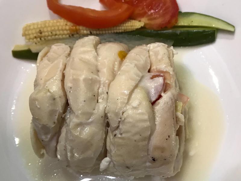 雞肉蔬菜捲-雞里肌