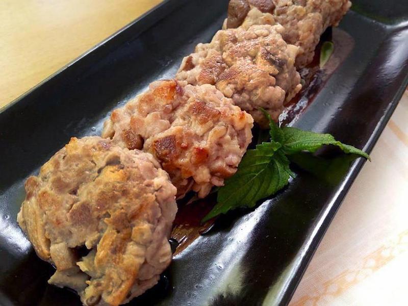 味噌鮮菇豬肉煎餅★