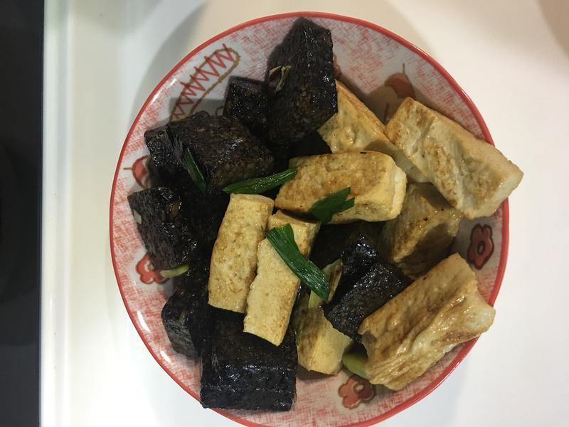 板豆腐燴豬血糕