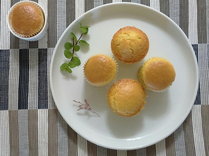 柳橙杯子蛋糕