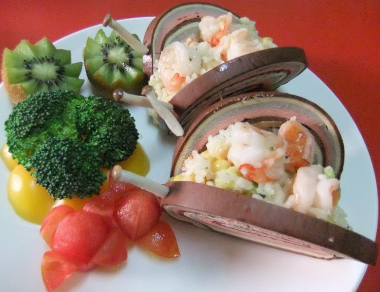 【十分輕鬆料理DIY】花園裡的彩虹蝸牛
