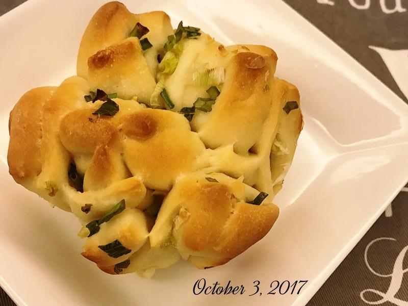 皇冠蔥花手撕麵包
