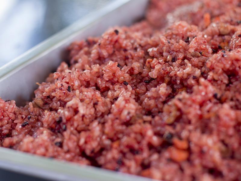 紅麴糯米飯