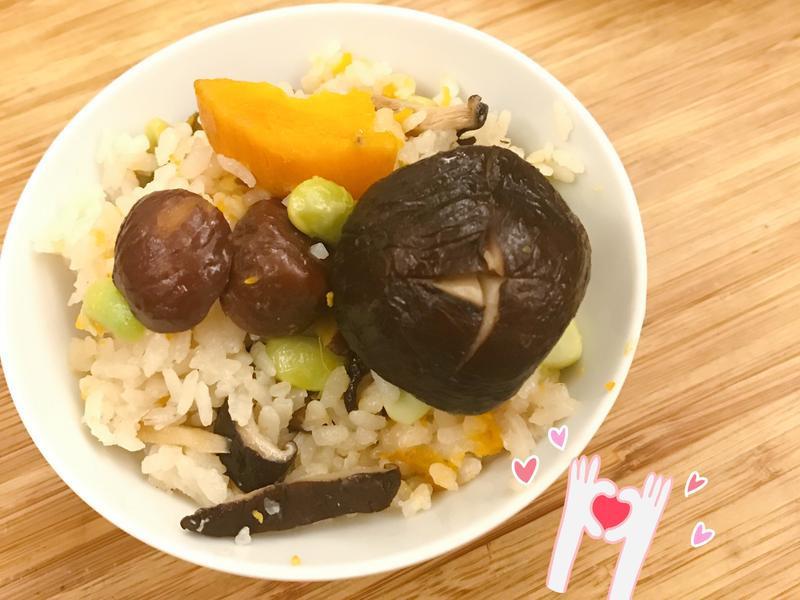 栗子地瓜香菇飯🍳小媳婦必學