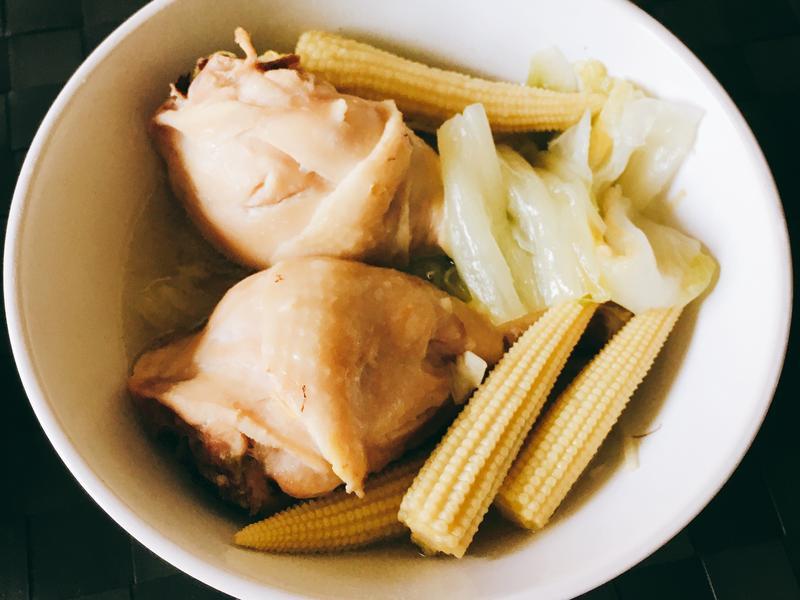 大白菜燜雞腿