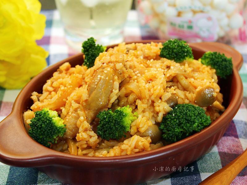 【好菇道好食光】義式紅醬雞肉燉飯