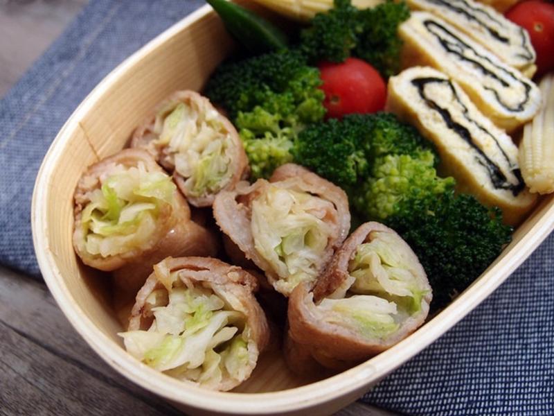 【熱門便當菜】高麗菜肉捲