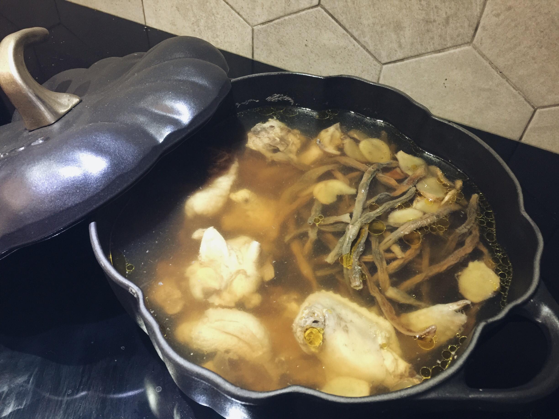 古早味菜豆雞湯