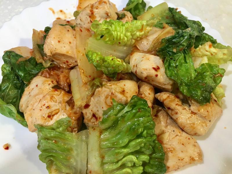 高蛋白「美心生菜遇上韓國泡菜雞」350卡