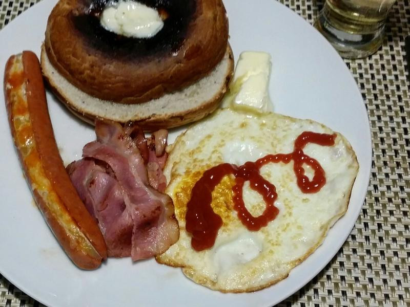 賢慧的愛妻早餐-美式早餐♡