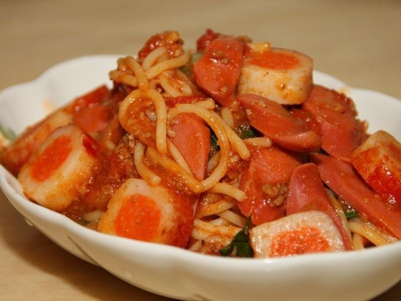 【十分輕鬆料理DIY】茄汁義大利麵