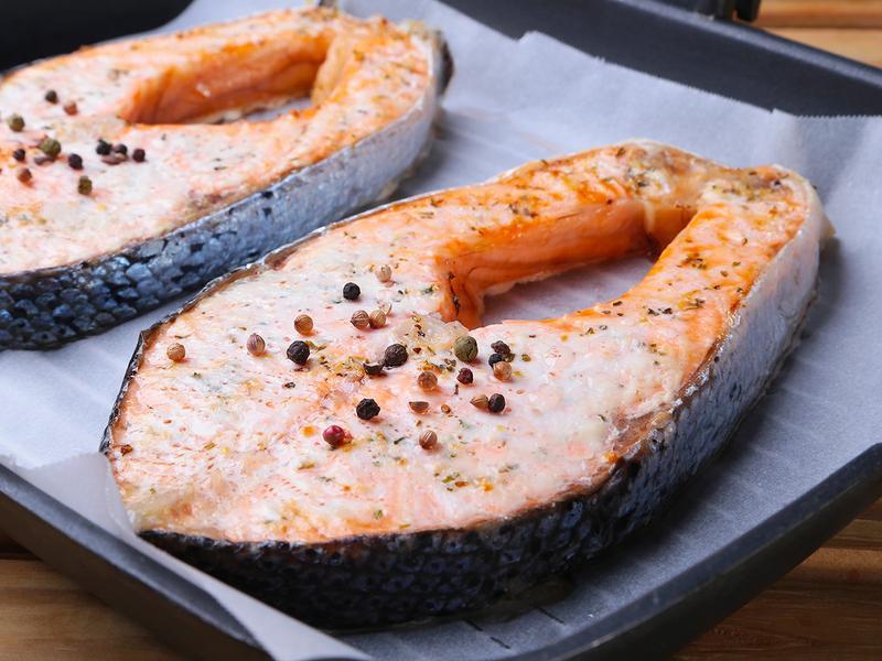 【懶人烤箱術】義式香草鮭魚