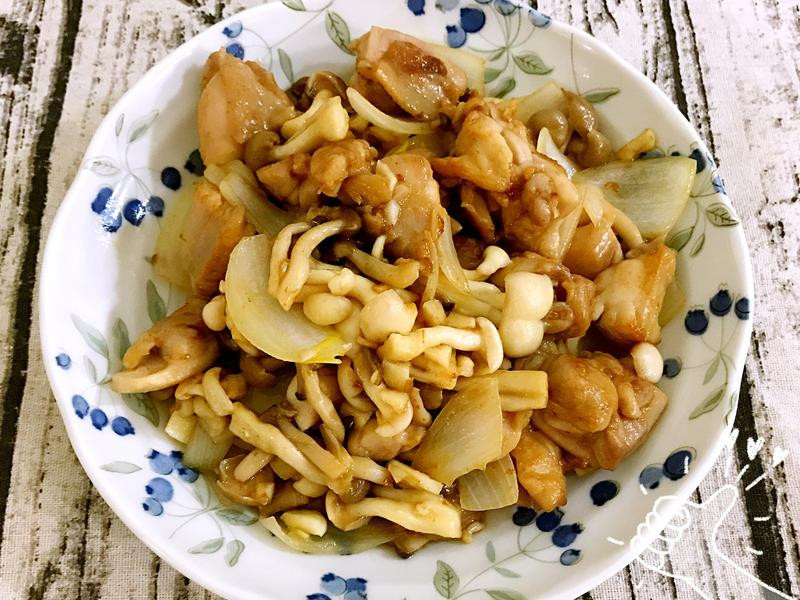 雙菇蜜汁雞腿肉🍗[好菇道好食光]