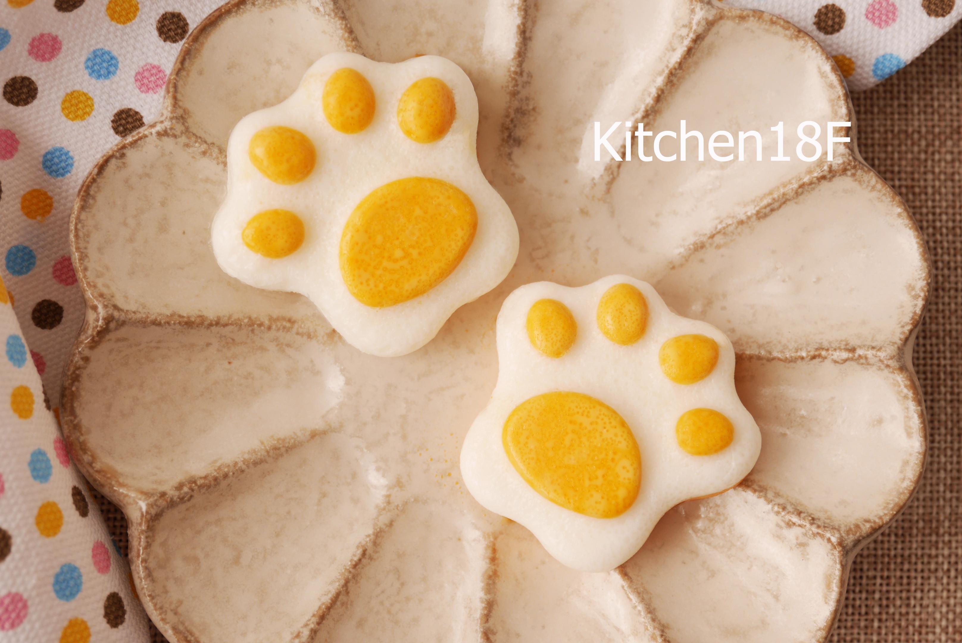 貓掌造型蛋_便當配菜