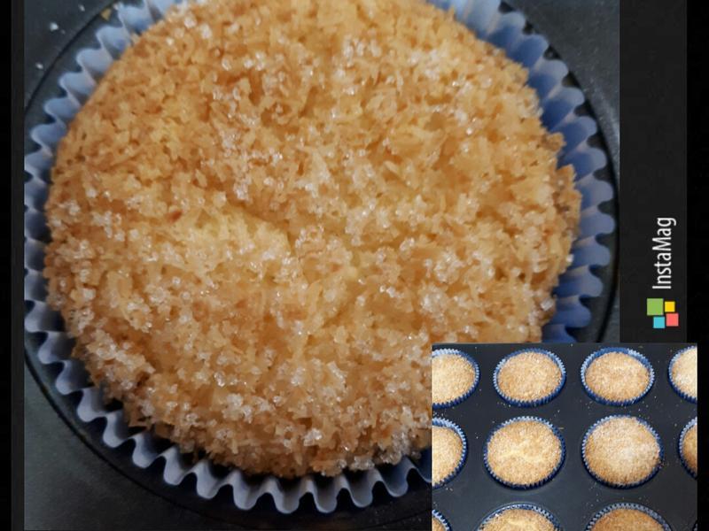 椰子煉乳戚風蛋糕