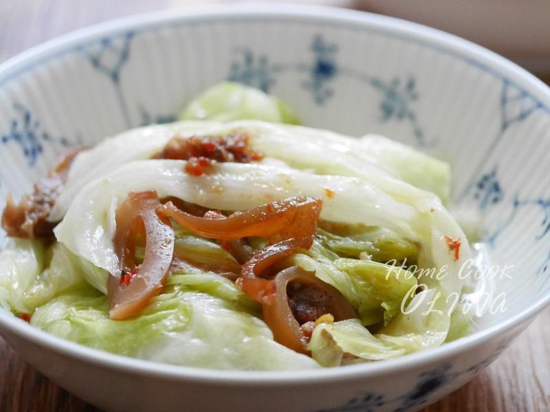 小廚娘❤小卷醬拌高麗菜#電鍋