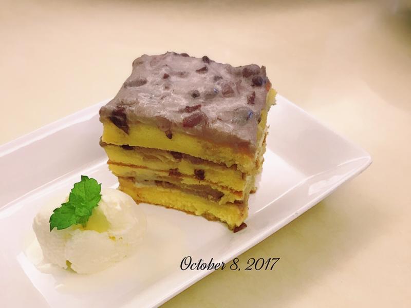 鬆軟軟🍧紅豆海綿蛋糕