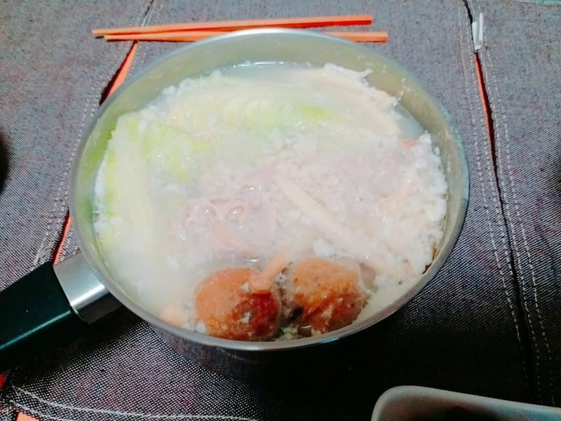 三分鐘搞定養顏日式豆漿鍋