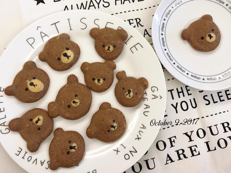 快速點心🔜熊熊餅乾小蛋糕
