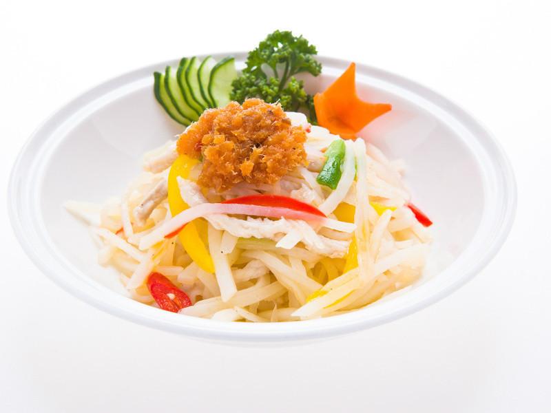 XO鮭魚炒土豆絲