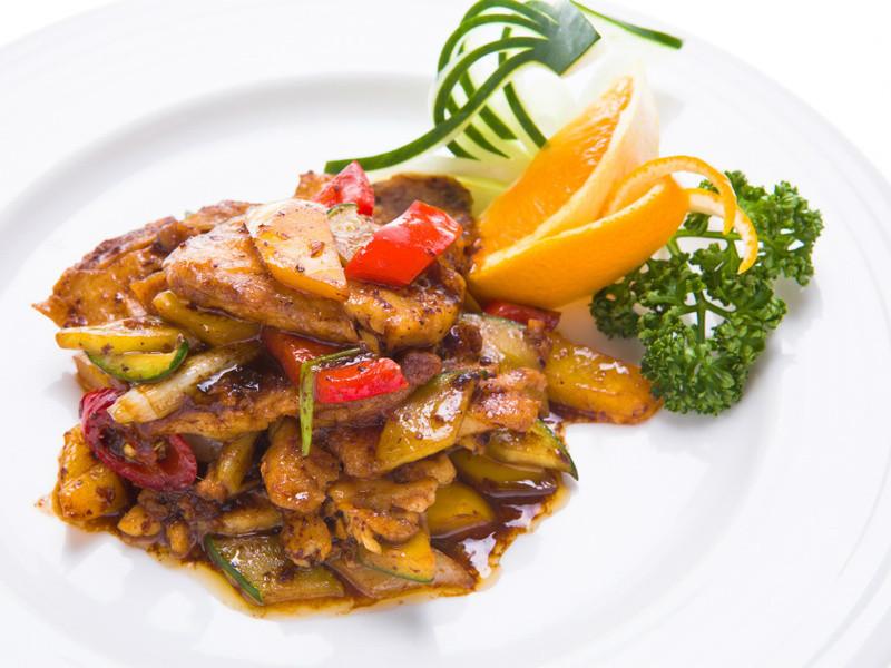豉油炸醬魚片