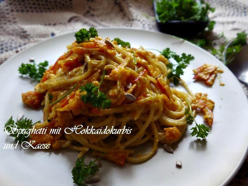 Spaghetti佐南瓜和起司