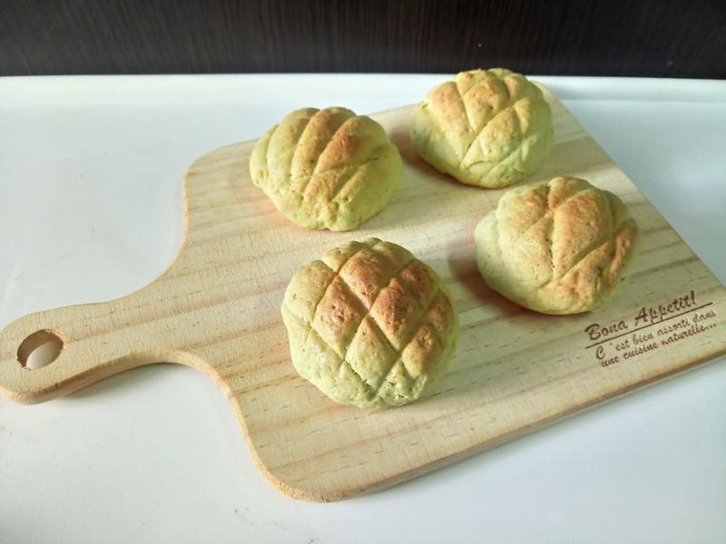 綠茶蜜瓜包