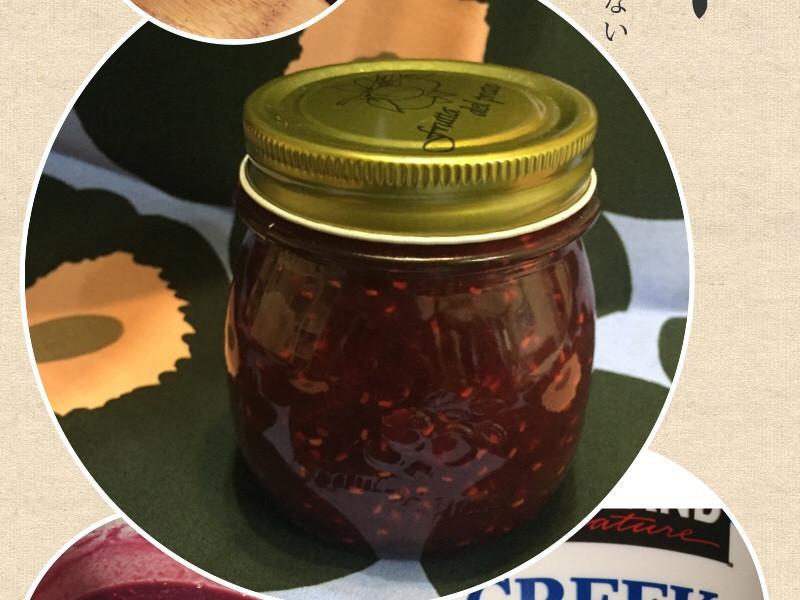 藍莓覆盆子果醬