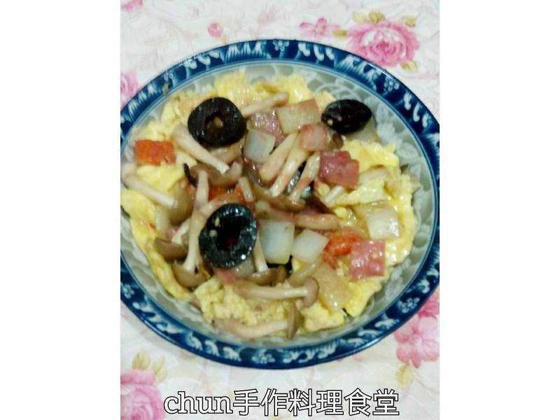 西班牙菇菇恩利蛋[好菇道好食光]