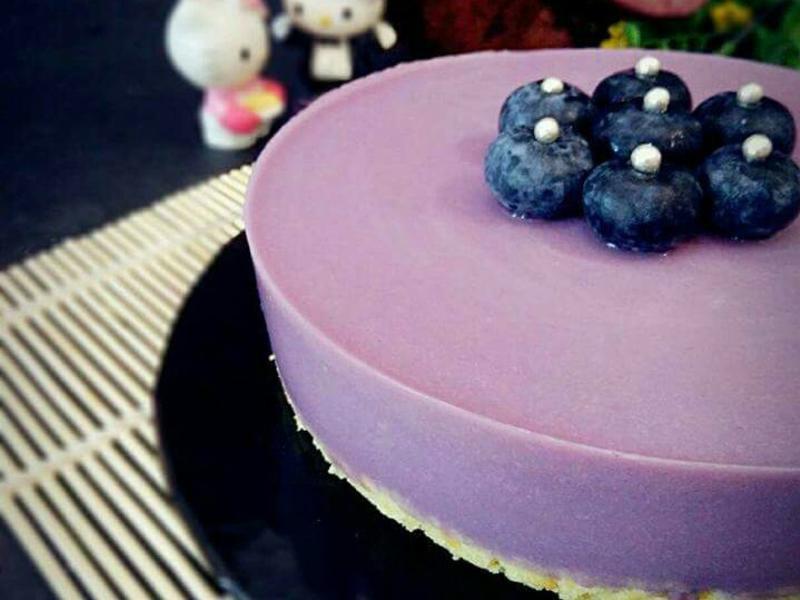紫薯慕斯蛋糕