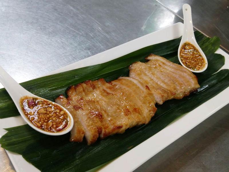 泰式醬烤松阪豬