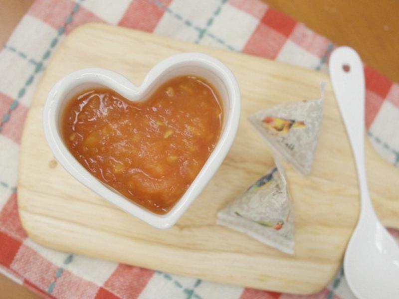 寶寶副食品「番茄泥」富含茄紅素 ♪