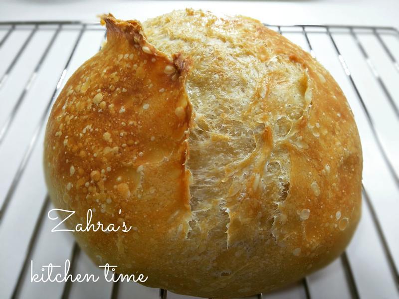 免揉鑄鐵鍋鄉村麵包
