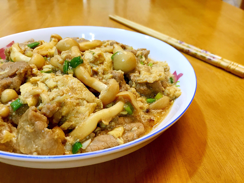鮮菇滑蛋牛肉【好菇道好食光】