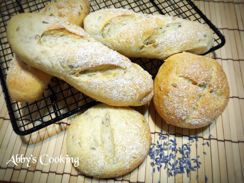 薰衣草軟法麵包