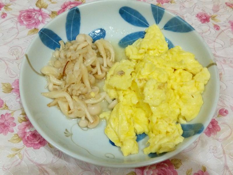 炒蛋附雪白菇[好菇道好食光]