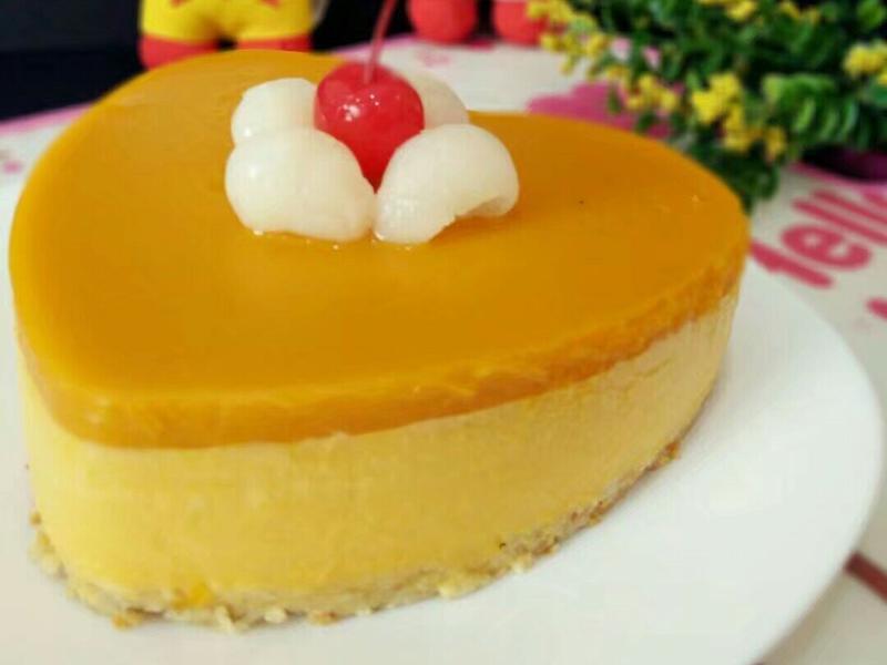 南瓜酸奶慕斯蛋糕