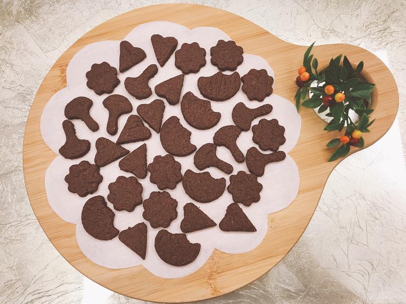 可愛造型巧克力餅乾