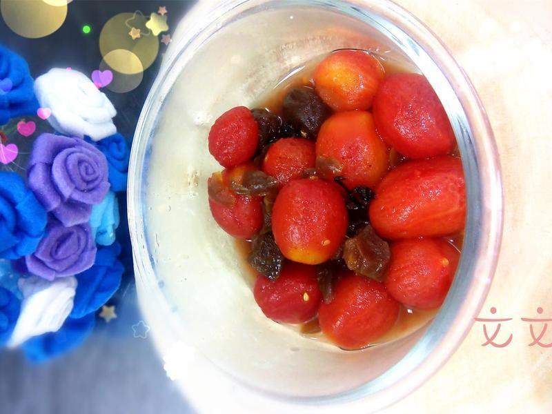 梅子蕃茄涼拌