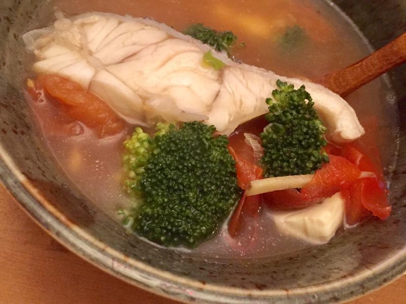 超低卡番茄鮮魚湯