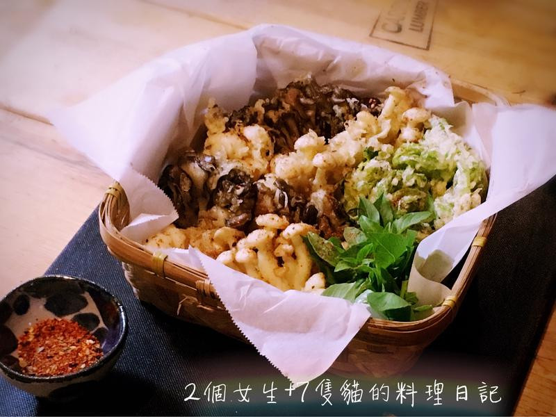 野菜蕈菇天婦羅【好菇道好食光】
