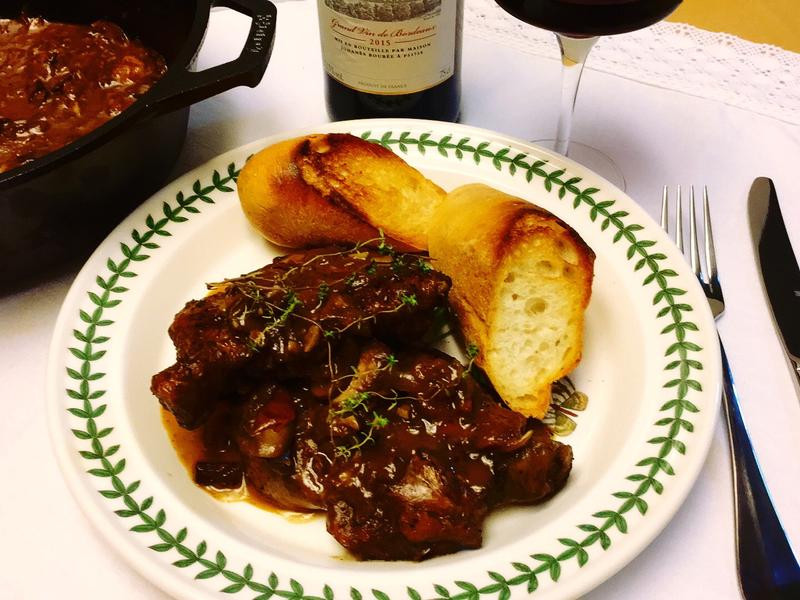 Coq au vin 法式紅酒燉雞