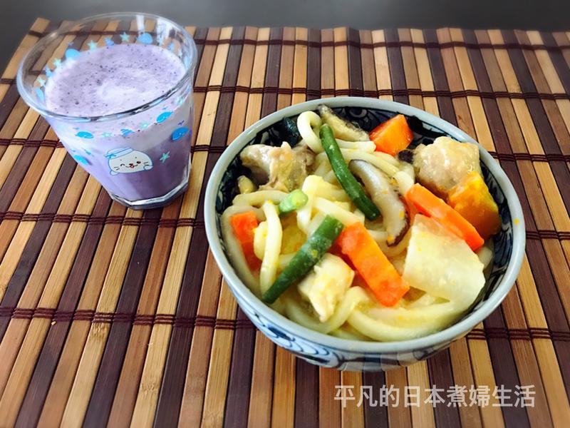 日本豆乳烏冬麵