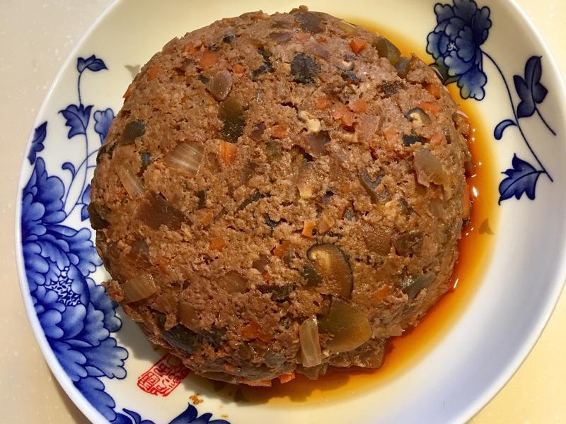 電鍋版寶寶香菇蔬菜瓜仔肉