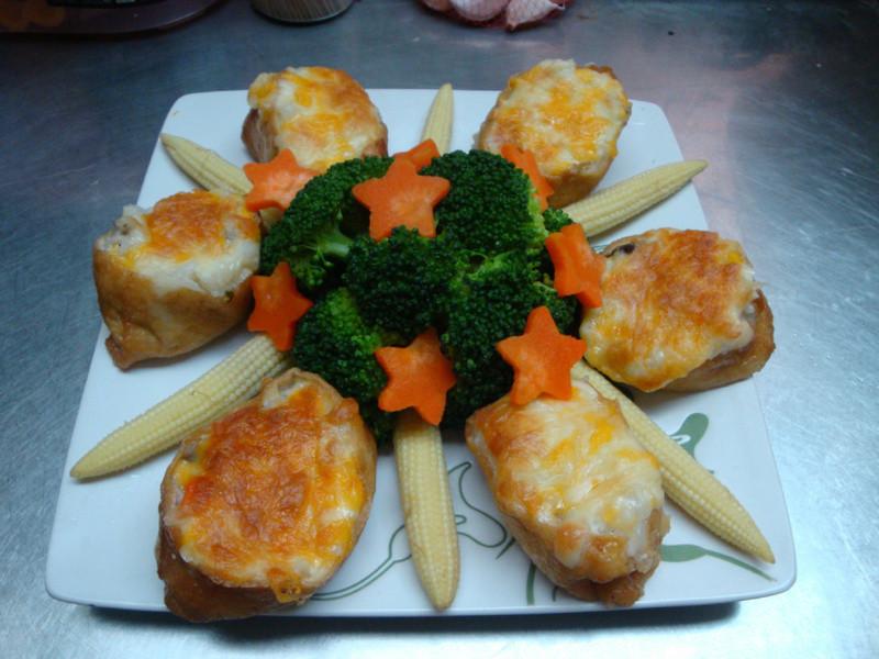 【十分輕鬆料理DIY】焗烤野菇雞肉豆皮飯