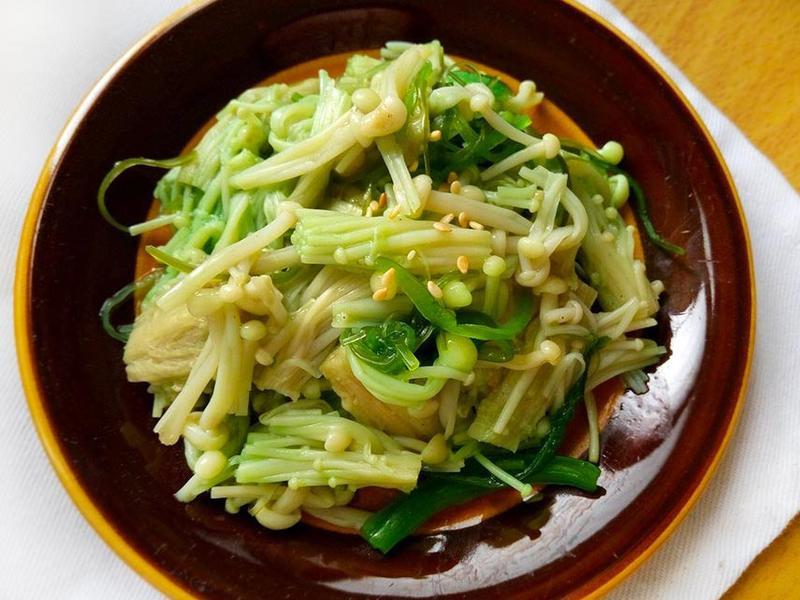 翡翠海芽金針菇〞簡易常備菜