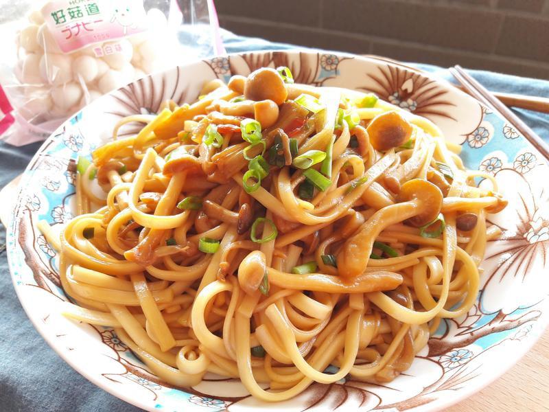蔥燒菇菇醬拌麵【好菇道好食光】