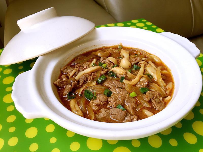 沙茶雙菇牛肉【好菇道好食光】
