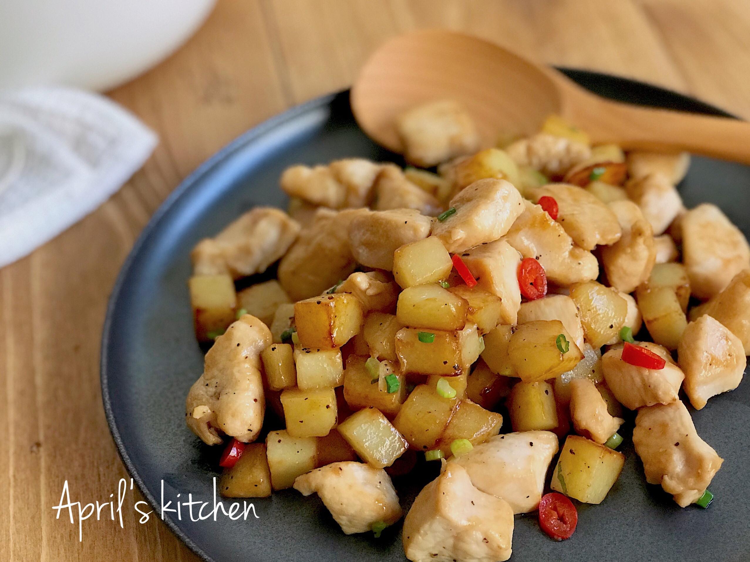 醬煎馬鈴薯雞丁 15分鐘輕鬆搞定