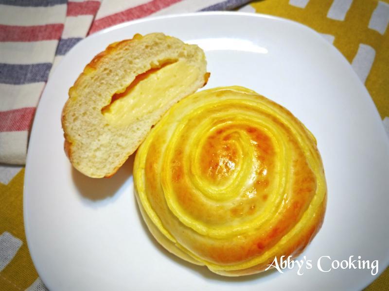 湯種卡士達麵包